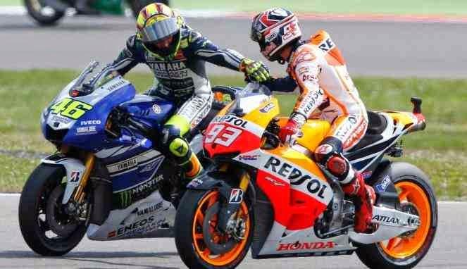 Rossi Vs Marquez Rival Sekaligus Sahabat