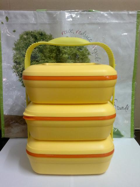 Mangkuk Tingkat Tupperware Set Mangkuk Tingkat rm 139