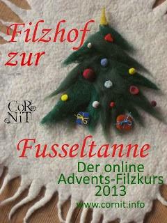 Online Advents-Filzkurs 2013