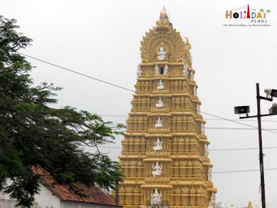 Chamundeshwari Temple in Chamundi Hills in Mysore