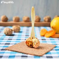 Croquetas de zanahoria y albaricoques secos (horneadas)