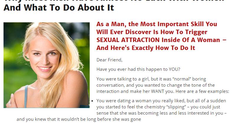 Dating headlines for women