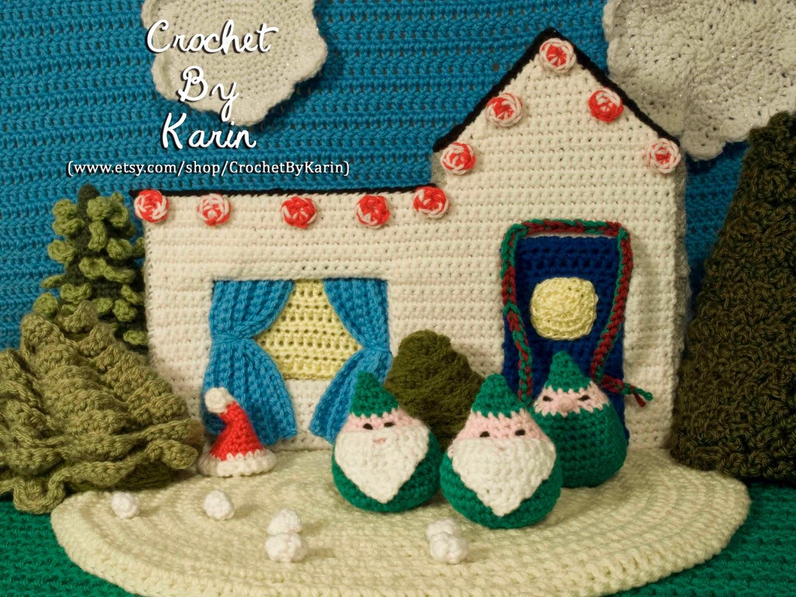 CrochetByKarin: Crochet Christmas Gnomes Smell Like Cookies
