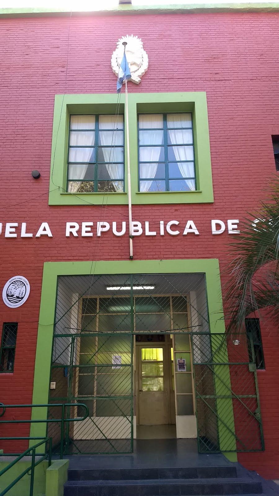 """Escuela 13 D.E. 4                                                   """"República de Chile"""""""