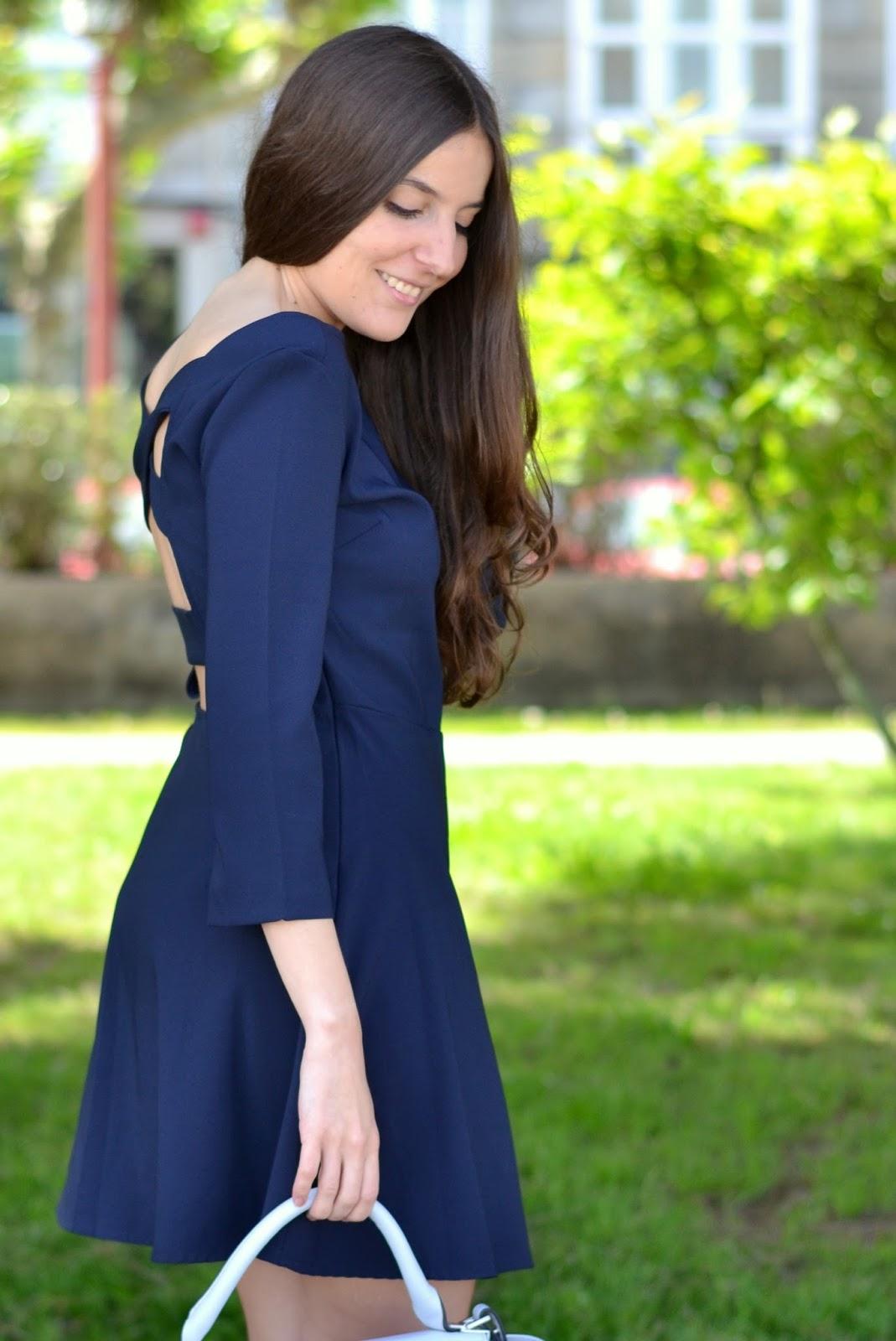 vestido aliexpress espalda al aire