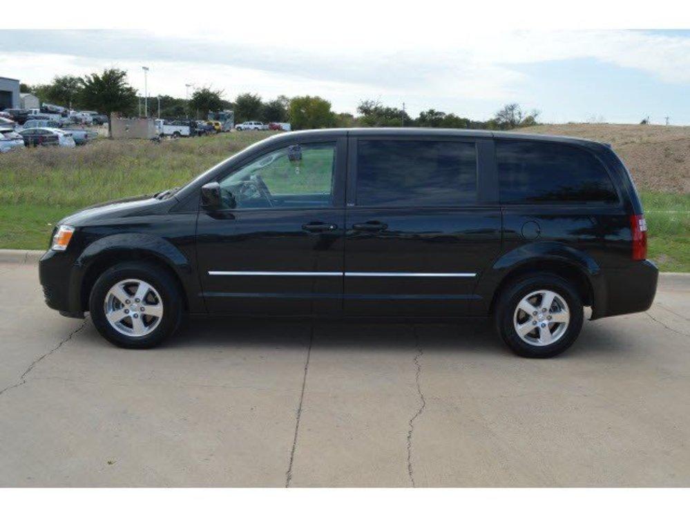 For Sale 7 991 Black 2008 Dodge Grand Caravan Sxt Fwd 7