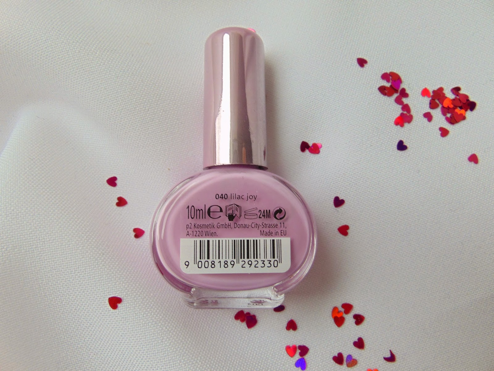 p2 Limited Edition: Just dream like - spring's fav nail polish - Lilac Joy - www.annitschkasblog.de