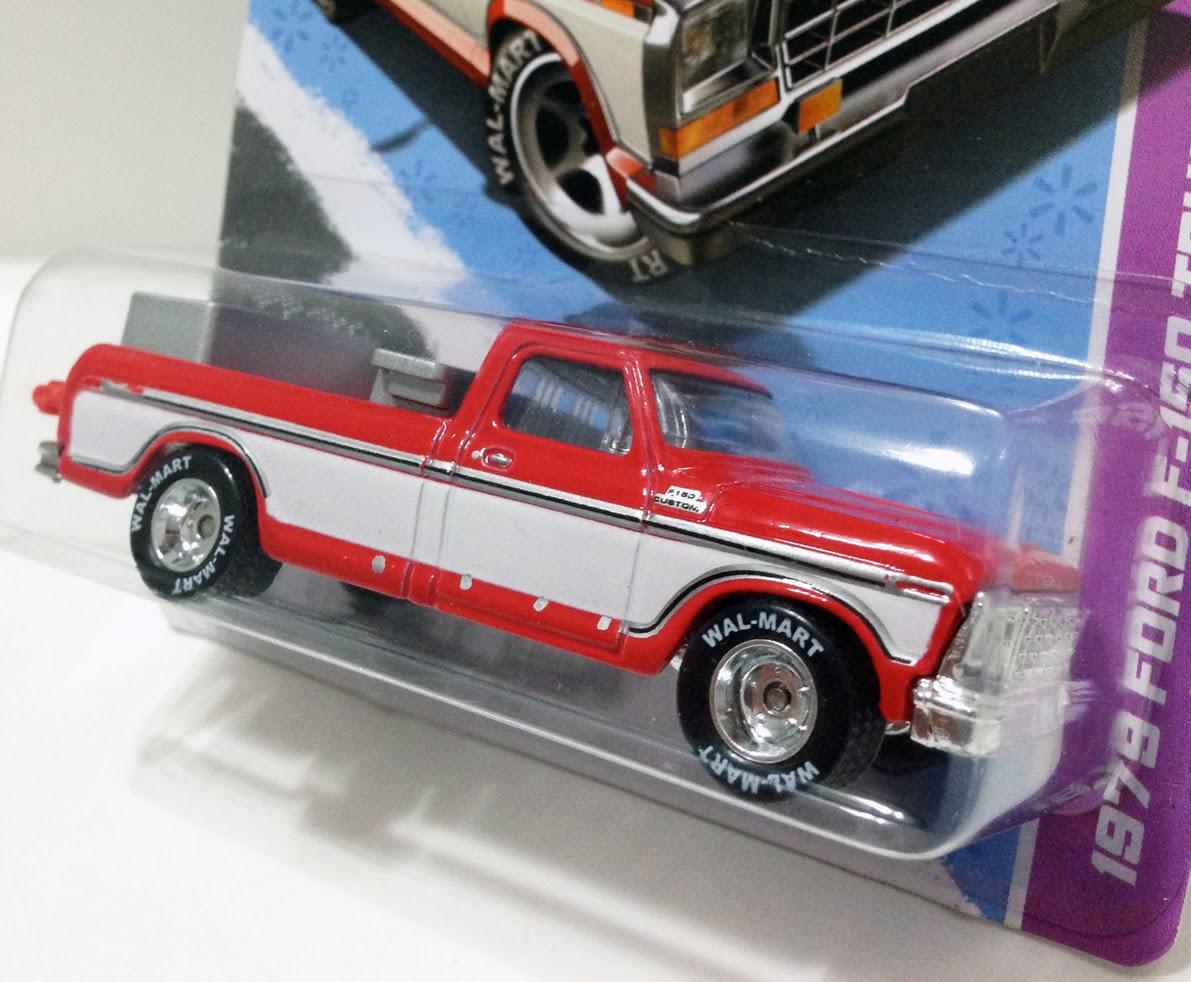 Hot Kustoms Mini Cars Walmart Exclusive Sam Waltons 1978 Ford 150