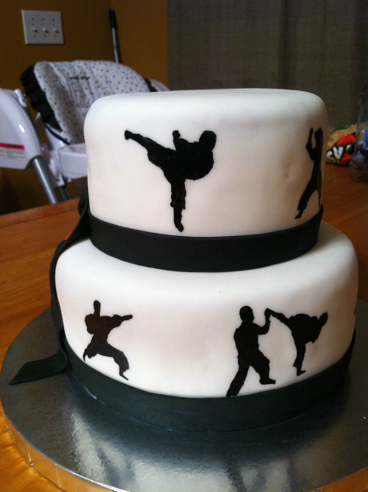 Introducing....: Karate Cakes