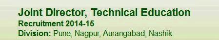 JDTE Pune Recruitment 2015 Result