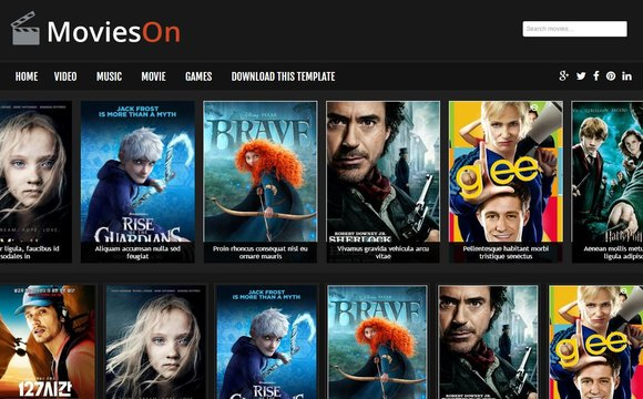 Movies On Blogger Template Has Banner Areas So It Allows You To Show Ads And Earn Money Without Making Damage Your Website Overall Look