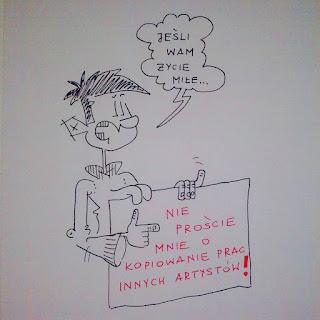 Artysta to nie kopista, czyli dla tych baty co chcą plagiaty!…