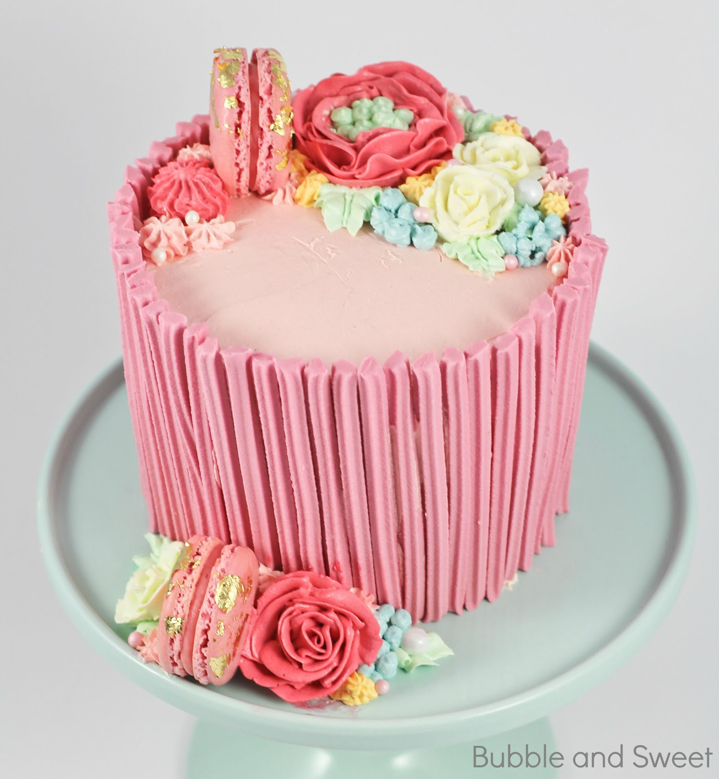 Bubble And Sweet: My Sweet Candy Girl Birthday Cake