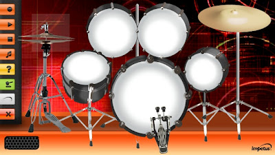 The Drummer is a application<br />that contains a Drum Set or Drum Kit