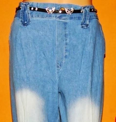 Grosir kulot jeans washed
