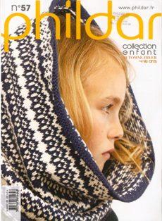 Phildar Enfants №57 2011-2012 Automne & Hiver