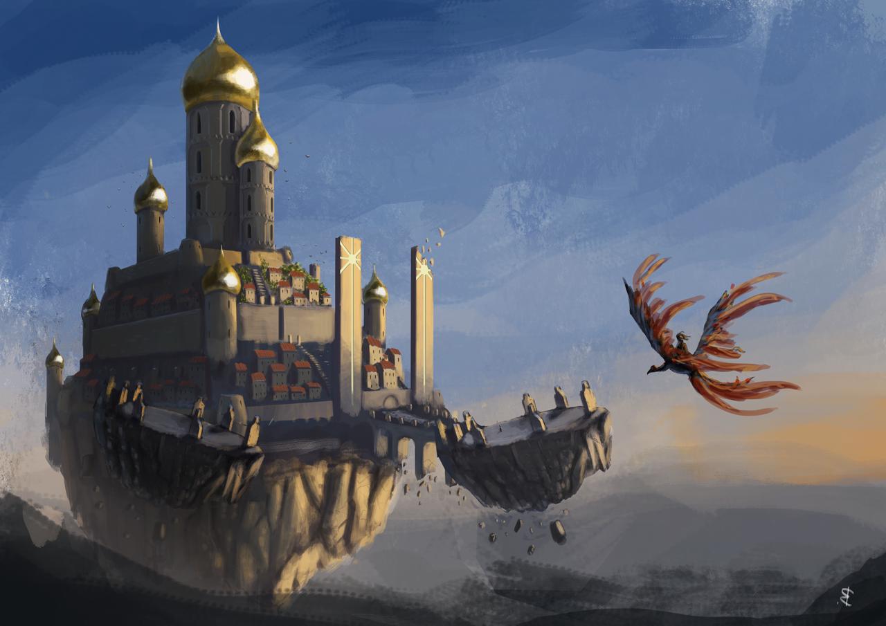 Art of artyom semenov sun castle final for Sun castle