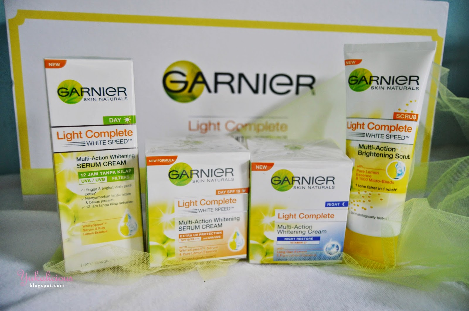 Yukalicious Review Garnier Light Complete White Speed