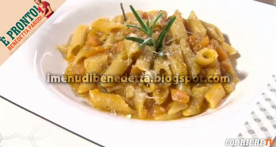 Pasta con Zucca e Lardo di Benedetta Parodi