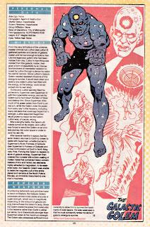 Golem Galactico (ficha dc comics)