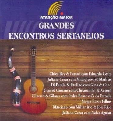CD Grandes Encontros Sertanejos - Seleção 2014
