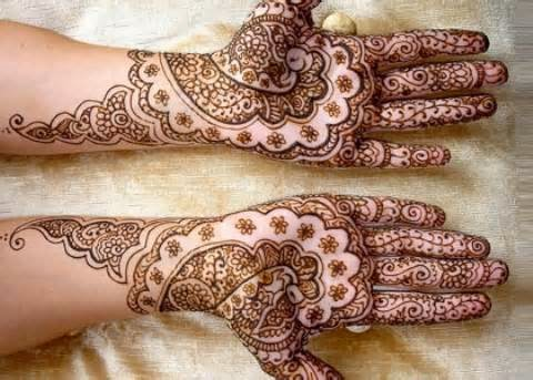Bridal Mehndi Design Book : Bridal mehndi designs for hands clothes indian full