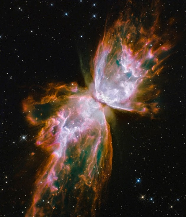 THE BUTTERFLY NEBULA