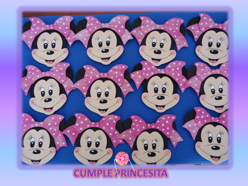 Invitaciones Minnie Mouse
