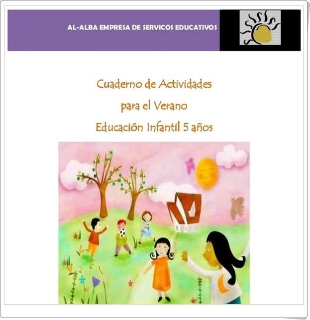 """Recursos Educativos de Educación Infantil: """"Cuaderno de Verano Al"""