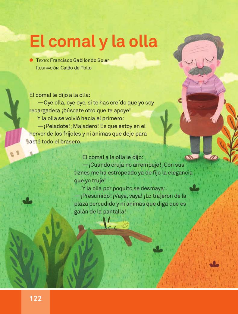 El comal y la olla - Español Lecturas 3ro 2014-2015