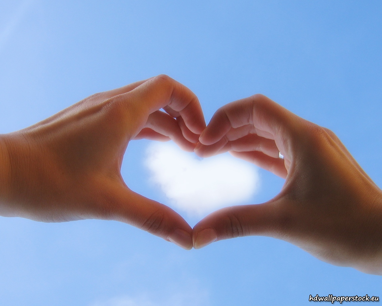 Heart Shaped Hands Stock Photos - Image: 31704383