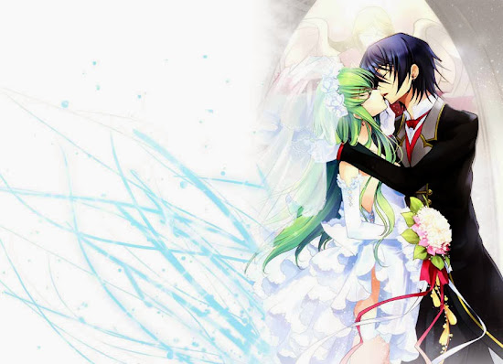 Lelouch & CC Wedding