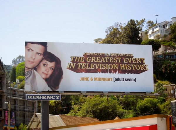Greatest Event TV History Hart to Hart parody billboard