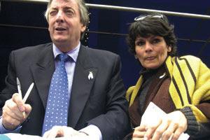 Miriam Quiroga amante Néstor Kirchner