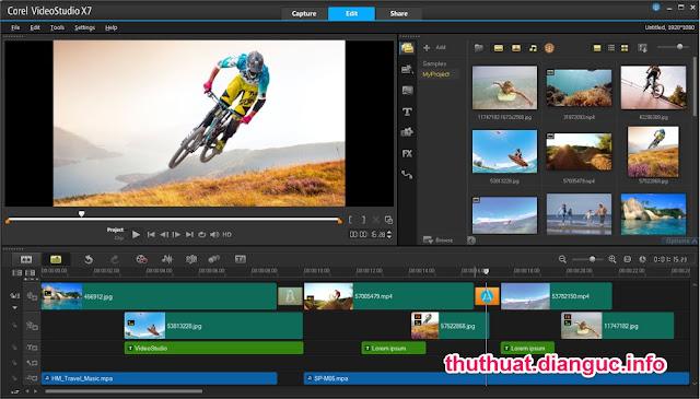 Download Corel VideoStudio Pro X7 Full Crack – Phần mềm biên tập video tốt nhất