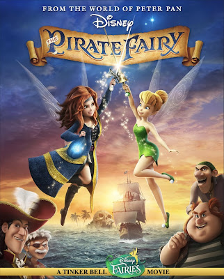 Poster Of Hollywood Film The Pirate Fairy (2014) In 300MB Compressed Size PC Movie Free Download At downmaza.com