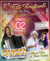 8° Festa Beneficente no Sítio Roça.