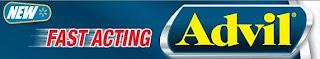 Free Sample Fast Acting Advil medicine pills aspirin