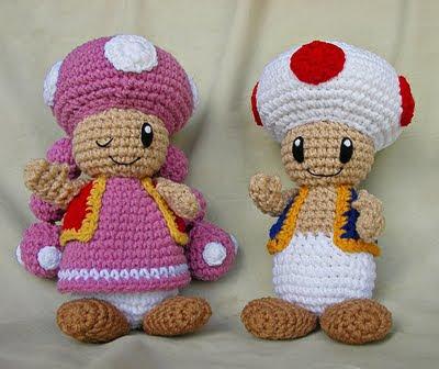 Patrones Amigurumi Gratis: Patron amigurumi Toad ...