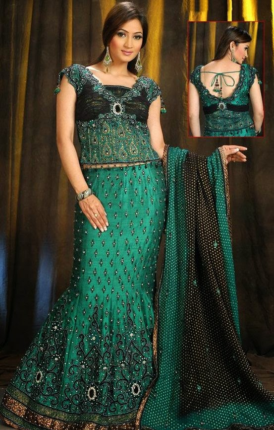 Fishtail Wedding Lehenga