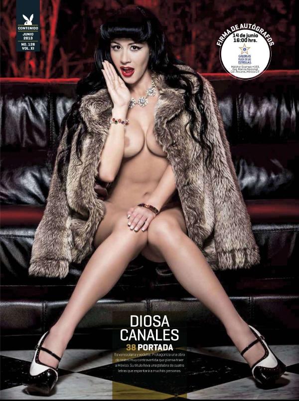 Fotos Diosa Canales Revista Playboy M Ico Junio