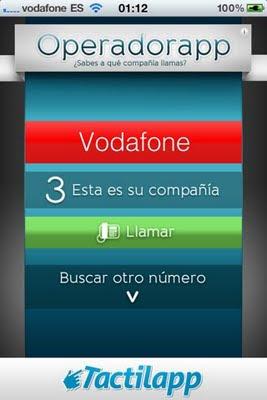 OperadorApp - iOS iPhone
