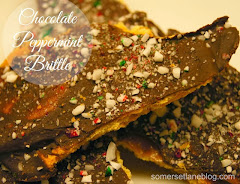 CHOCOLATE PEPPERMINT BRITTLE