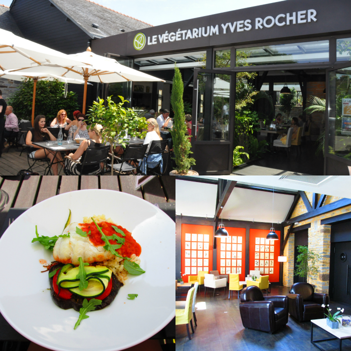 Yves Rocher Blogger Event - Restaurant Le Végétarium - La Gacilly