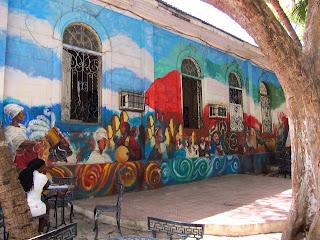Santiago de Cuba Casa del Caribe mural