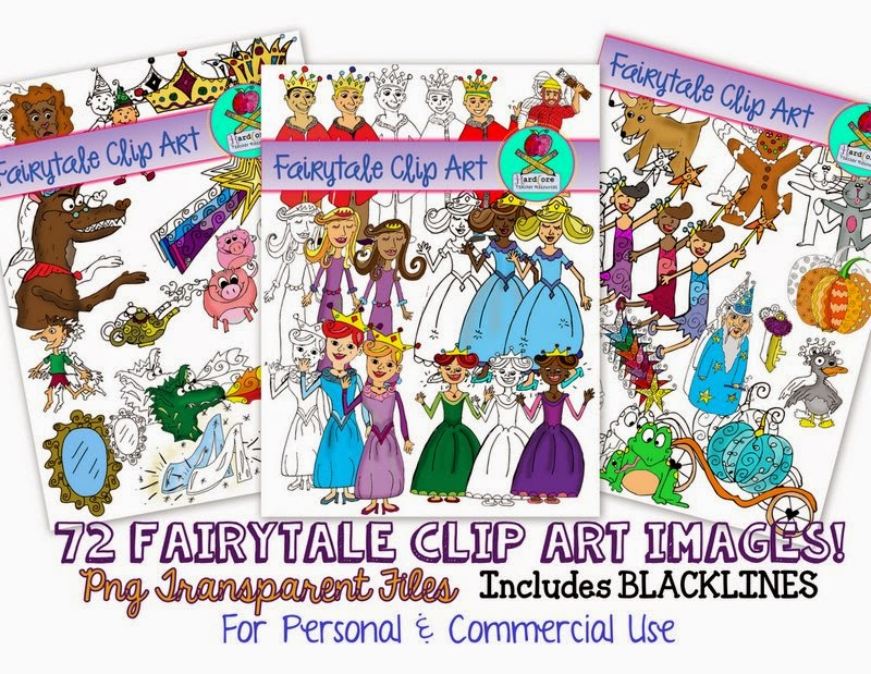 http://www.teacherspayteachers.com/Product/Fairytale-Clip-Art-Blackline-Color-72-Images-Commercial-Personal-USe-1328556