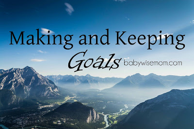 Making and Keeping Goals