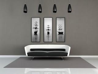 Decoraci n e ideas para mi hogar decoraci n en color gris for Decoracion hogar gris