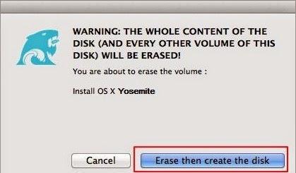 Make OS X Yosemite Bootable USB Flash Drive