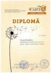 Premiul Republica la Salonul Internaţional al Cărţii, Chişinău, 2012